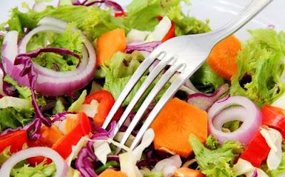 diet sehat makanan mentah