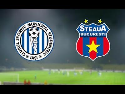 CSMS Iaşi - Steaua Bucuresti live online 3 octombrie 2015