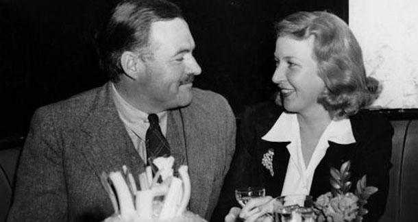 The real Hemingway and Gellhorn