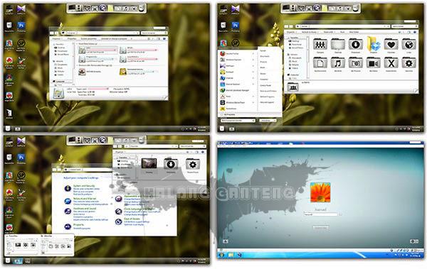 Frost Skin Pack for Windows 7 Screenshot