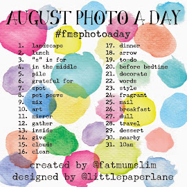 Photo-A-Day AUGUST 2014 from Fat Mum Slim