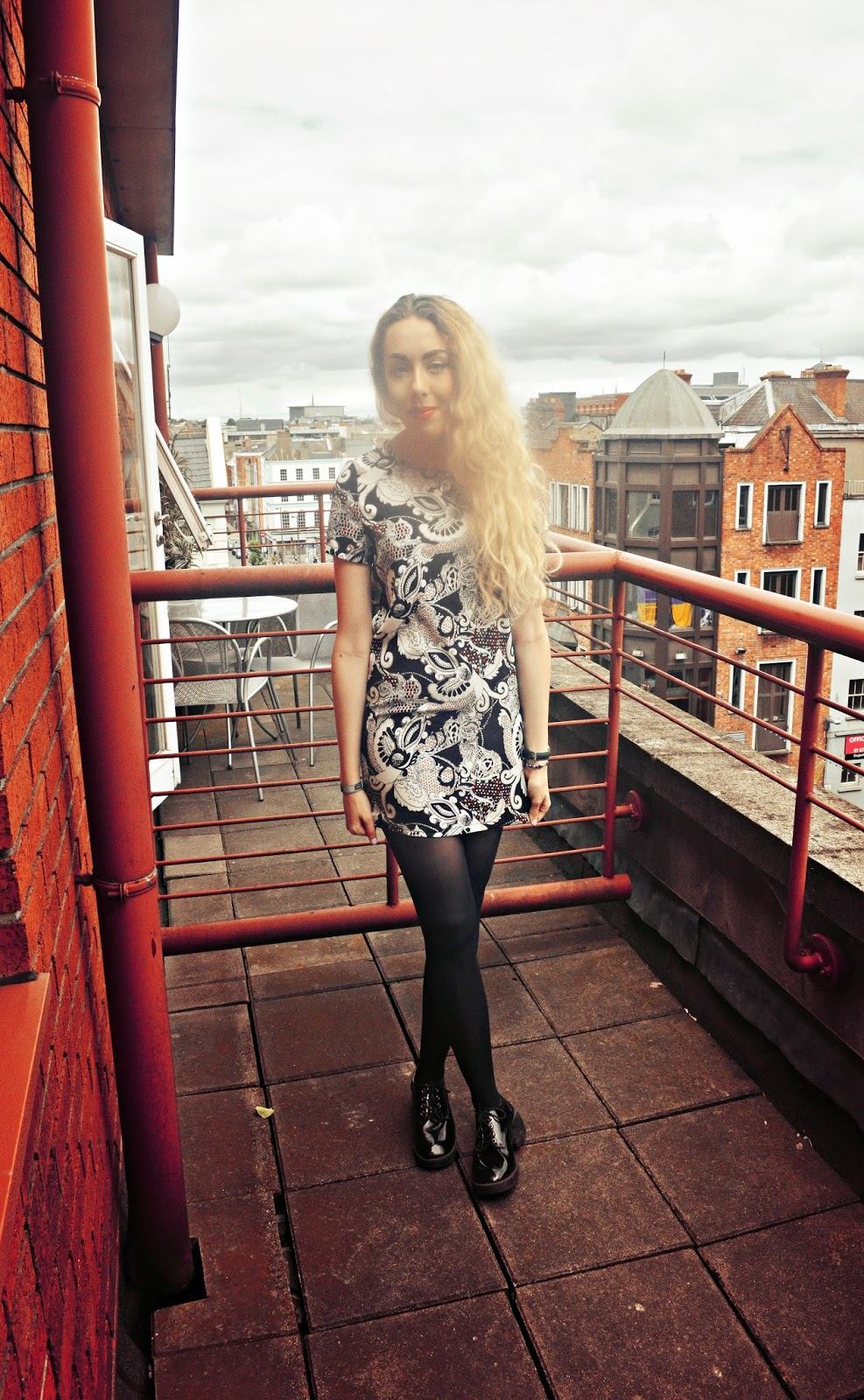 ark dress, monochrome, stephi lareine, truffle at asos, fashion blog, uk