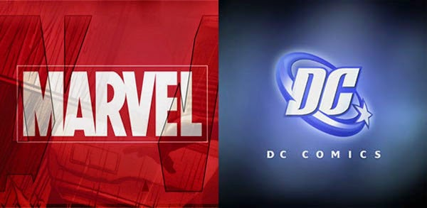 Marvel vs DC logo