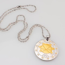 MST silver+ gold Pendant