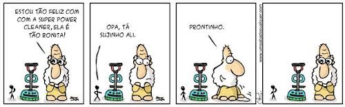 Tirinhas da Luna #33: 'Supérfluo Shop 2' | Ordem da Fênix Brasileira