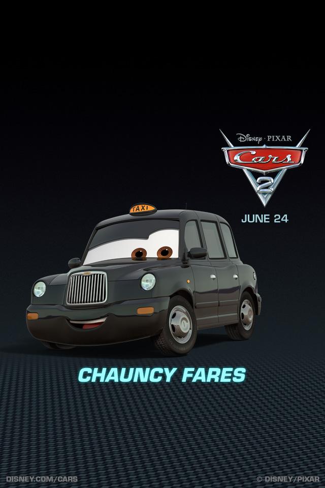 Cars 2 chauncy fares