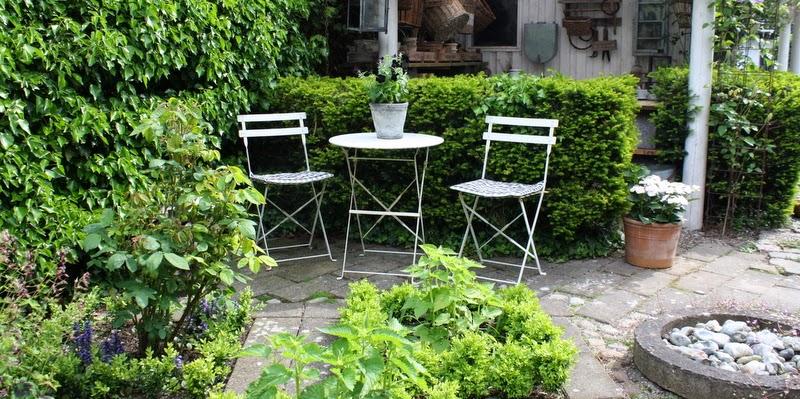 terrasse, gårdrum
