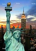 تمثال الحرية الشهير بالعاصمة نيويورك