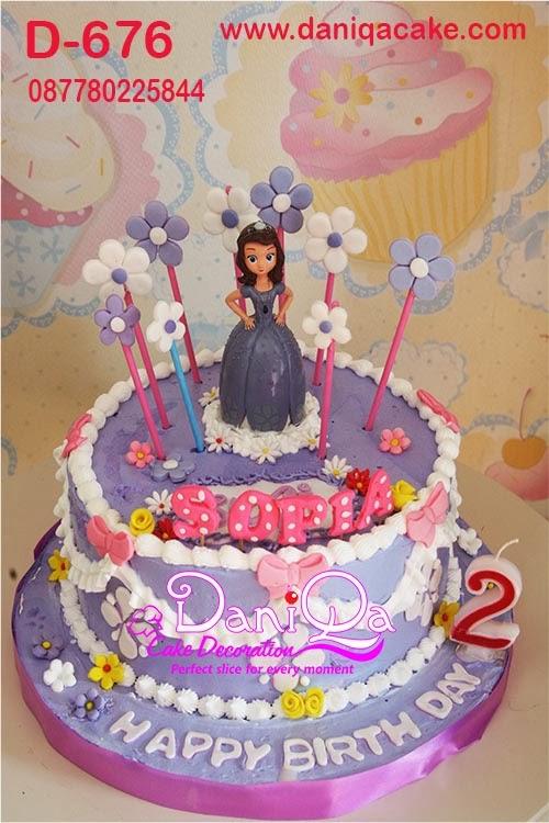 DaniQa Cake and Snack: Sofia the first birthday Cake