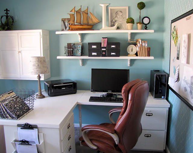 Awesome Colorful Home Office Design Inspiration  Home Decorating Blog