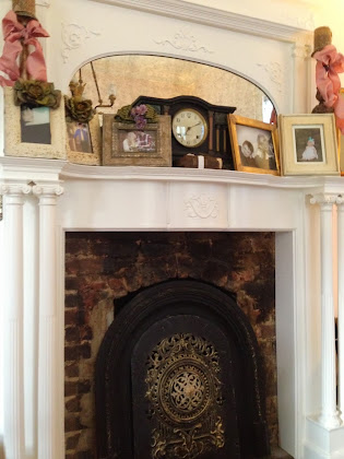 The old mantel clock at Grammy's House