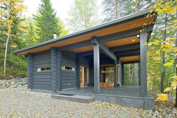 Casas naturales planos de casas gratis - Vivir en una casa de madera ...