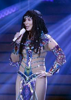 Cher performing in Canada, 2014