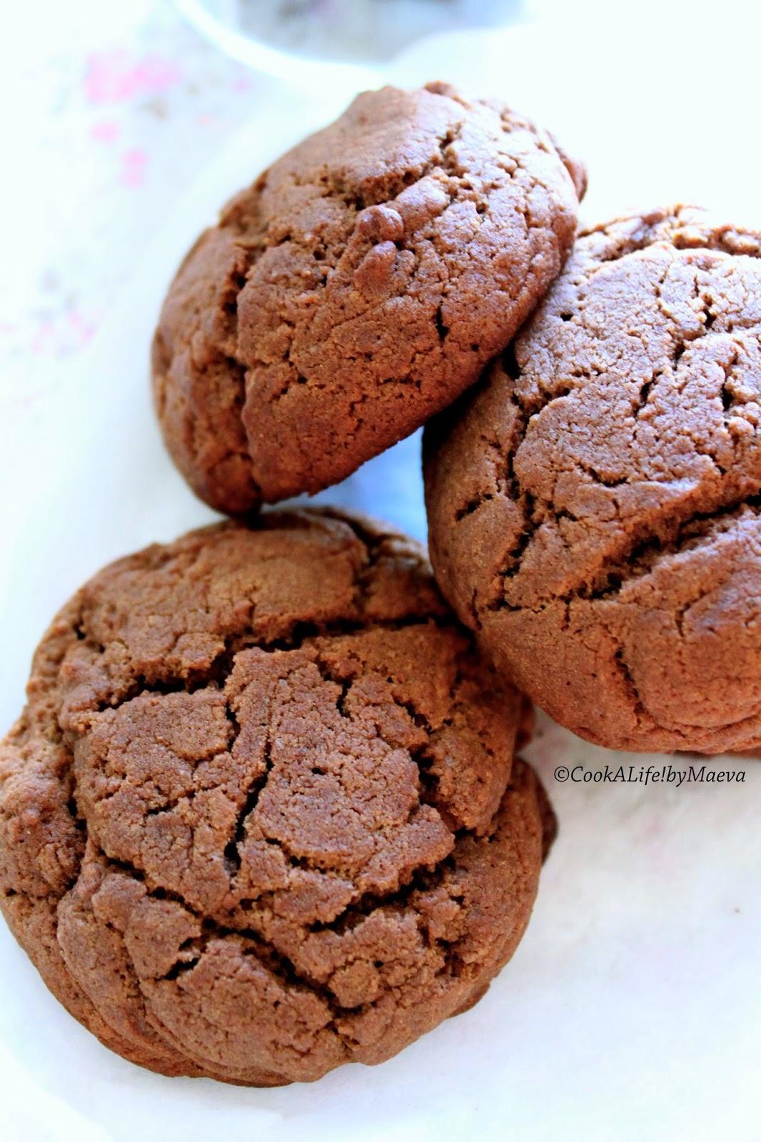 Cook A Life By Maeva Biscuits Sables Moelleux Au Chocolat Et