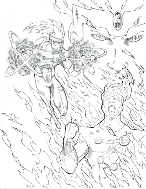 Fury of Firestorm Art