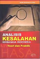 toko buku rahma: buku ANALISIS KESALAHAN BERBAHASA INDONESIA TEORI DAN PRAKTIS, pengarang nanik setyawati, penerbit yuma pustaka