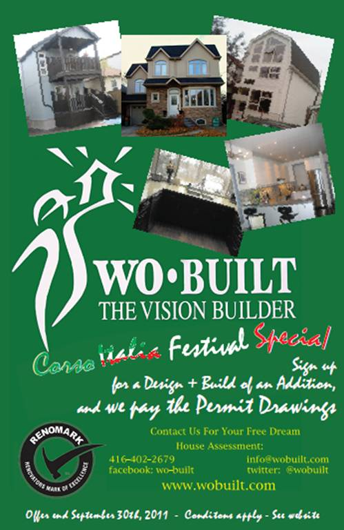 Wo built inc clients 39 advocate for making their dream for Style at home special offer