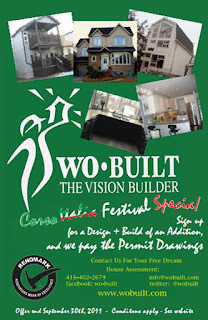 Design and Build of an Addition Wo-Built's special offer