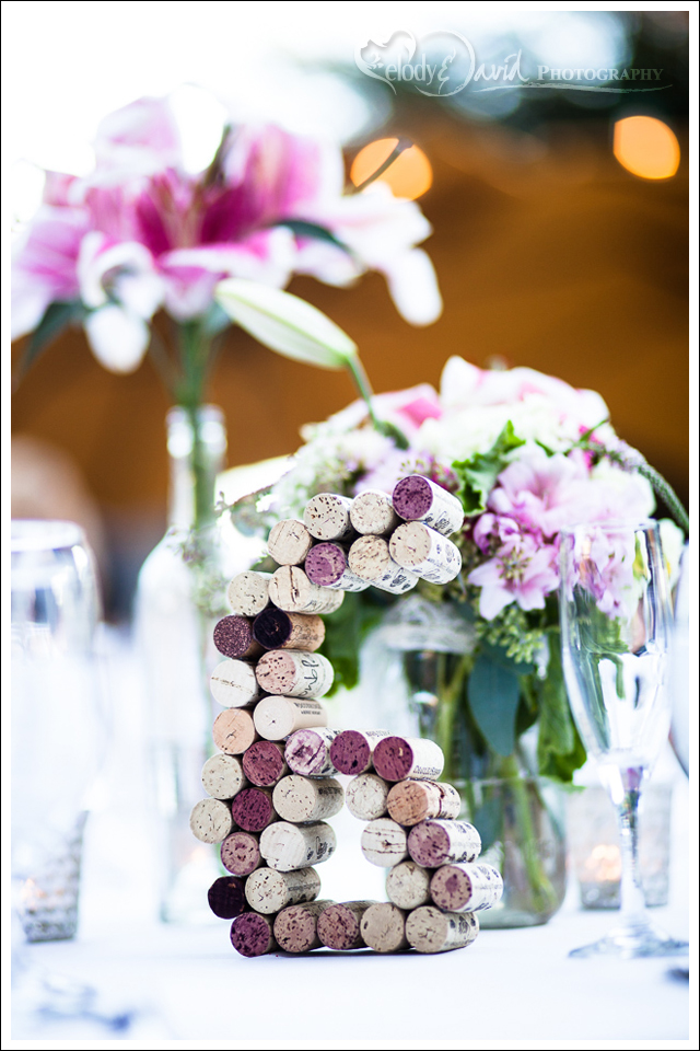 Table numbers for wine lovers