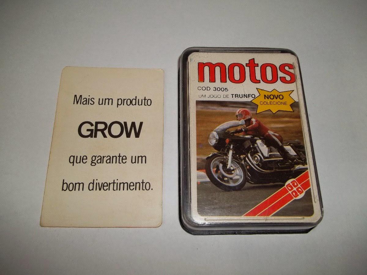 grow super trunfo motos anos 80 completo 13964 MLB4577113001 062013 F - OS CICLOMOTORES
