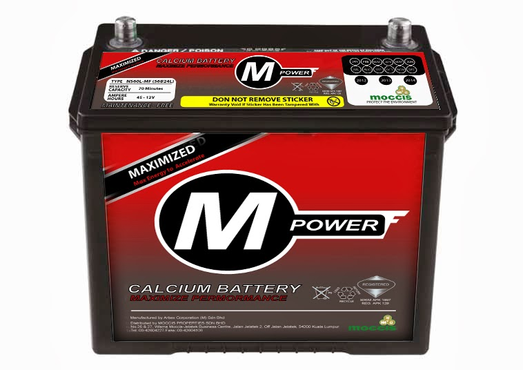 M-Power Car Battery