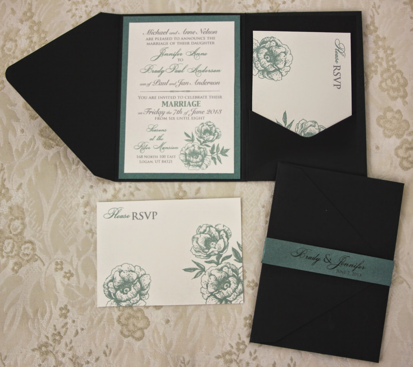 Karas koncepts graphic design custom wedding invitations here is a sneak peak of the pocket wedding invitations that will be soon on the blog monicamarmolfo Image collections