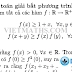 Giải bài toán bất đẳng thức hàm bằng PP chuyển qua giới hạn dãy số - Tiến sĩ Trịn Đào Chiến