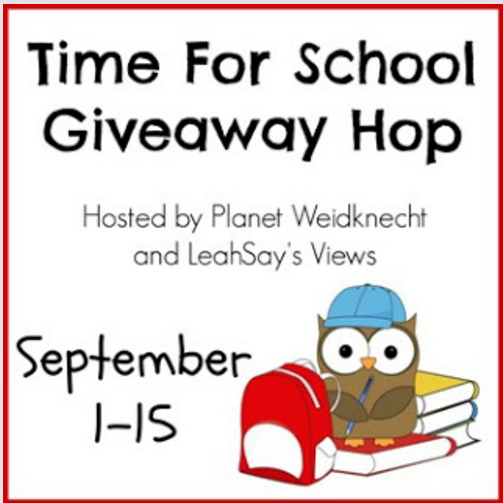 Time for School Hop 9/1-9/15