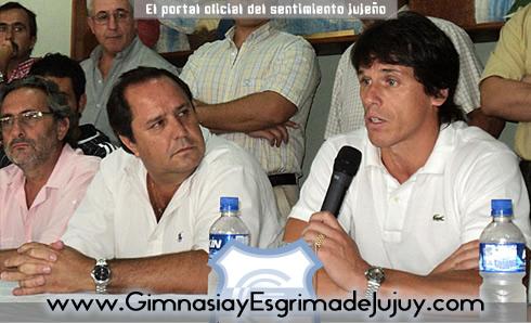 Calderón dejo de ser el DT de Gimnasia de Jujuy
