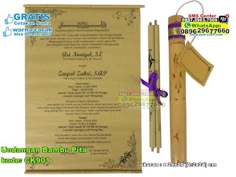 Undangan Bambu Pita