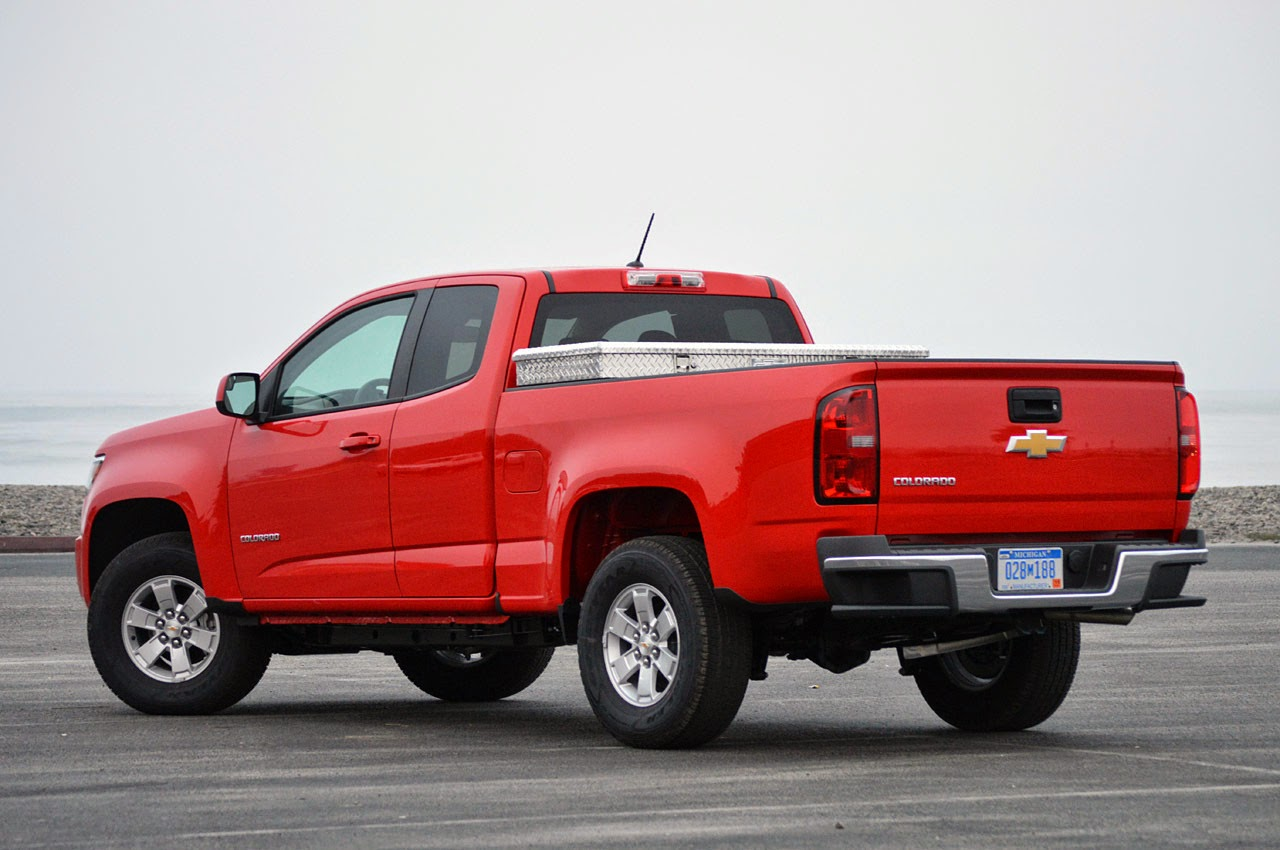 Lastest  Automotiveblogz 2015 Chevrolet Colorado First Drive Photos
