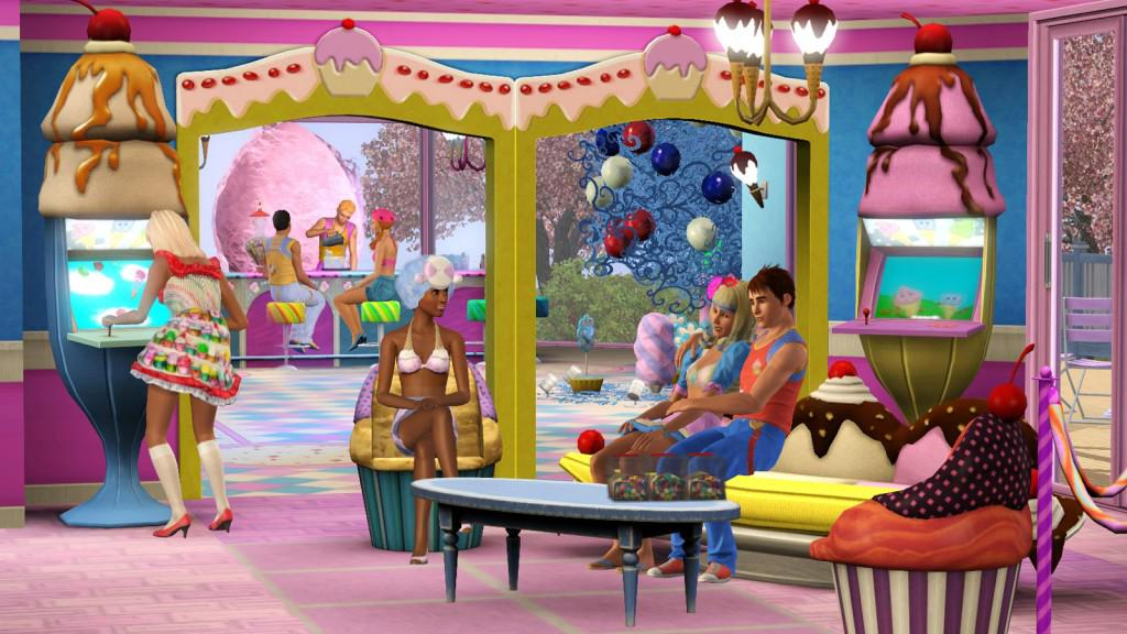 The Sims 3 Katy Perry's Sweet Treats Stuff Pack Info