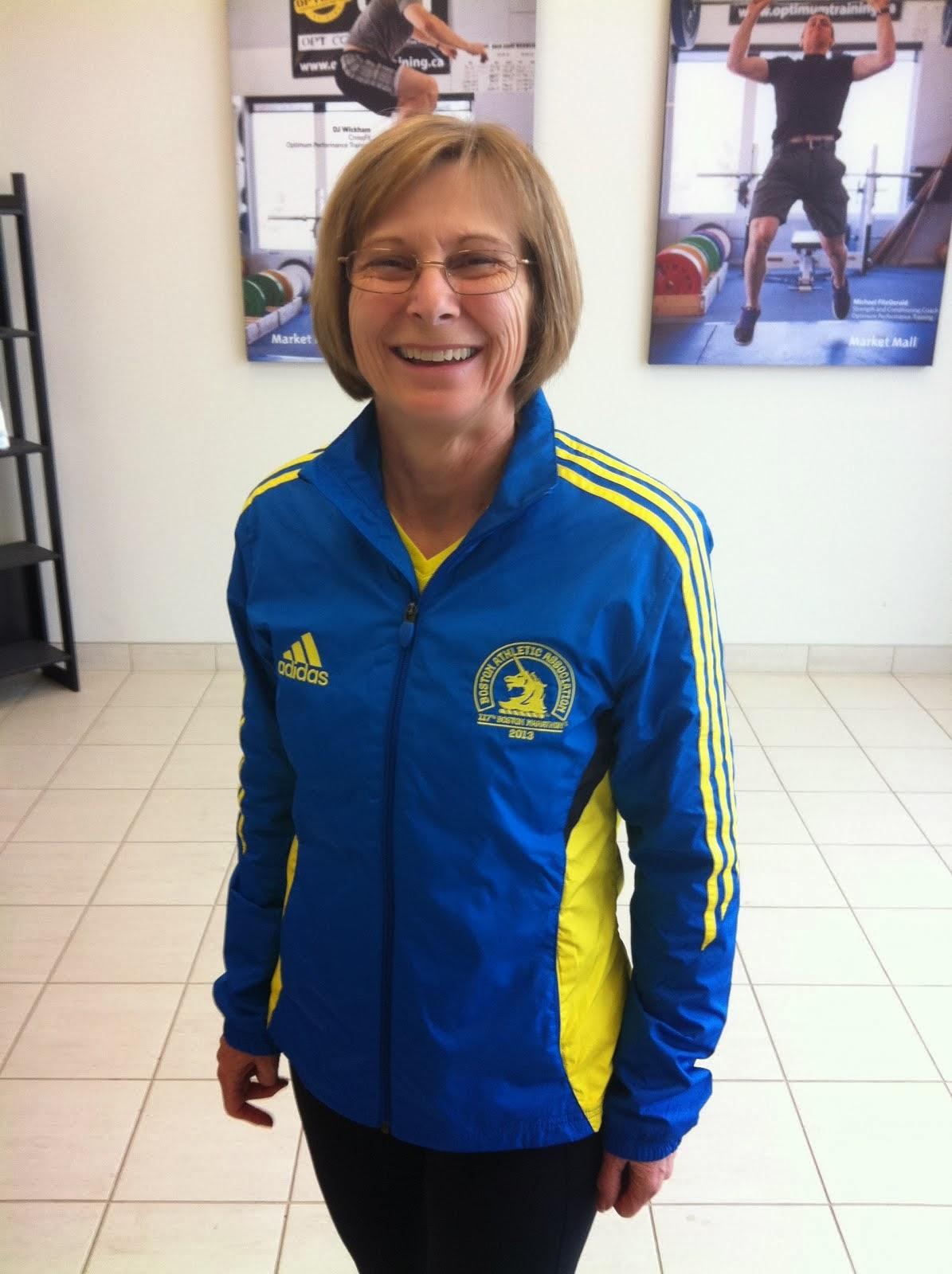 Shelagh - Marathon Runner