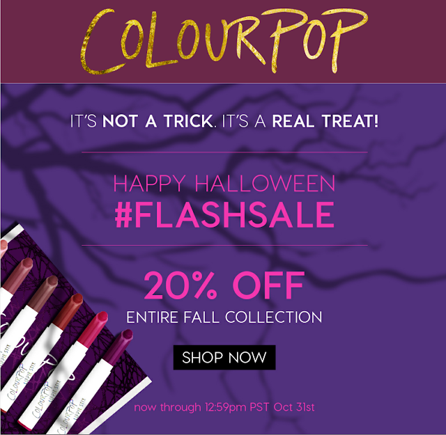 Colourpop coupon code kathleenlights