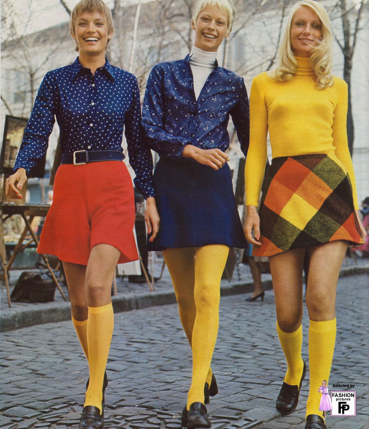 Fashion Women Fashion: 50 Awesome And Colorful Photoshoots Of The 1970s Fashion
