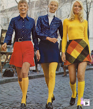 1970 Mini Skirt Fashions