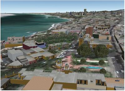SketchUp-Modell von Barranco, Lima