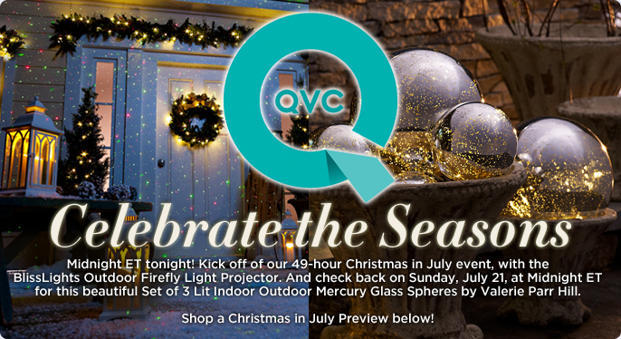 qvc christmas in july today