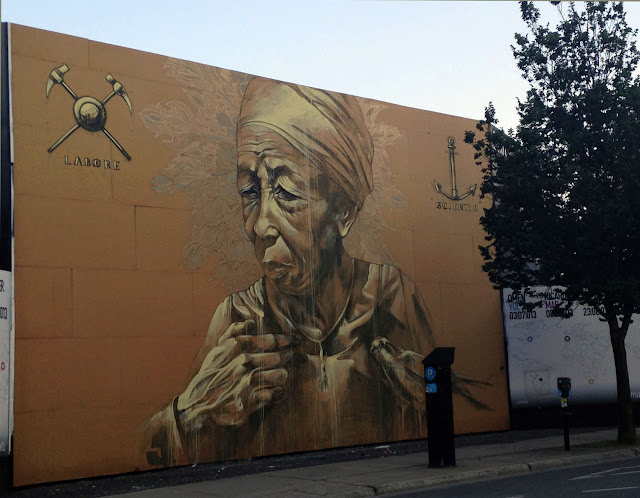 Street Art By Faith47 In Montreal, Canada.