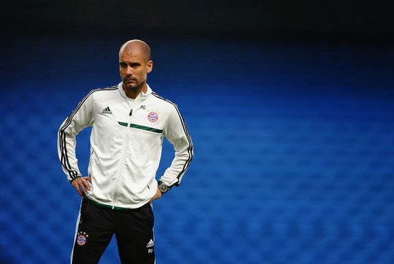 Pep Guardiola doesn't want to create a replica of the side he coached at former club Barcelona
