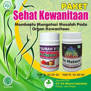 Paket Kesehatan Kewanitaan De Nature