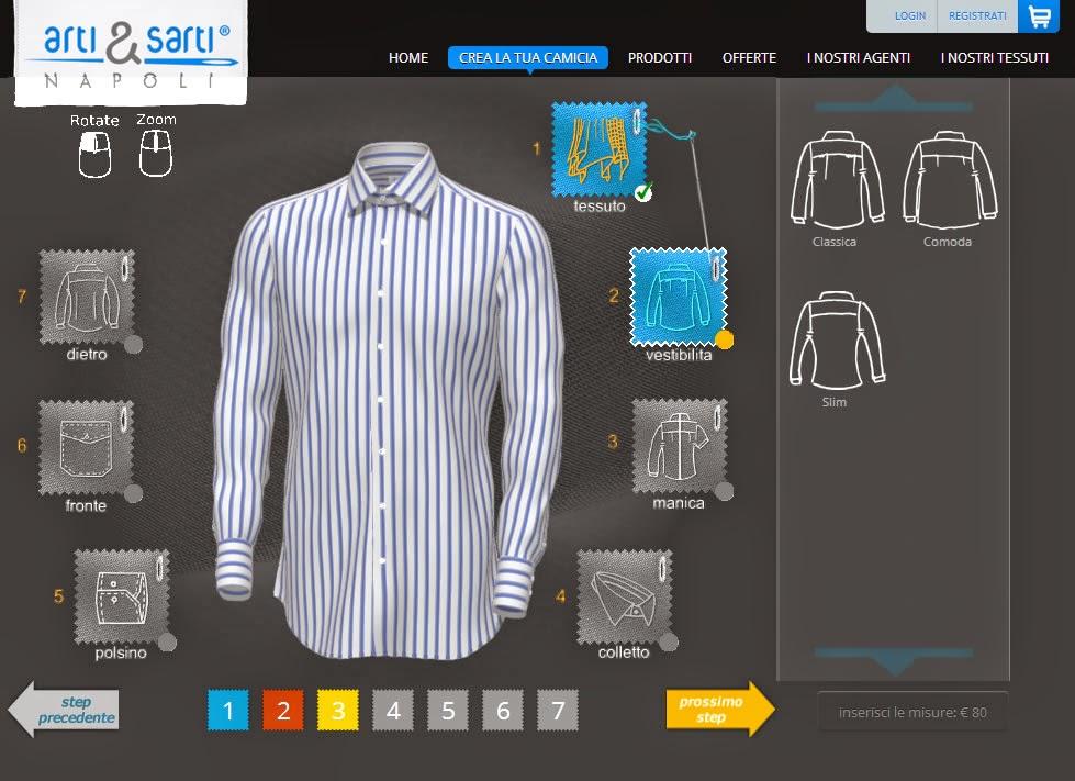 un'immagine del sito di Arti & Sarti