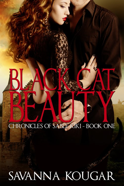 BLACK CAT BEAUTY ~ New Cover Art