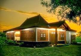 Contoh Rumah Klasik Jawa Desain Minimalis Gambar Terbaru