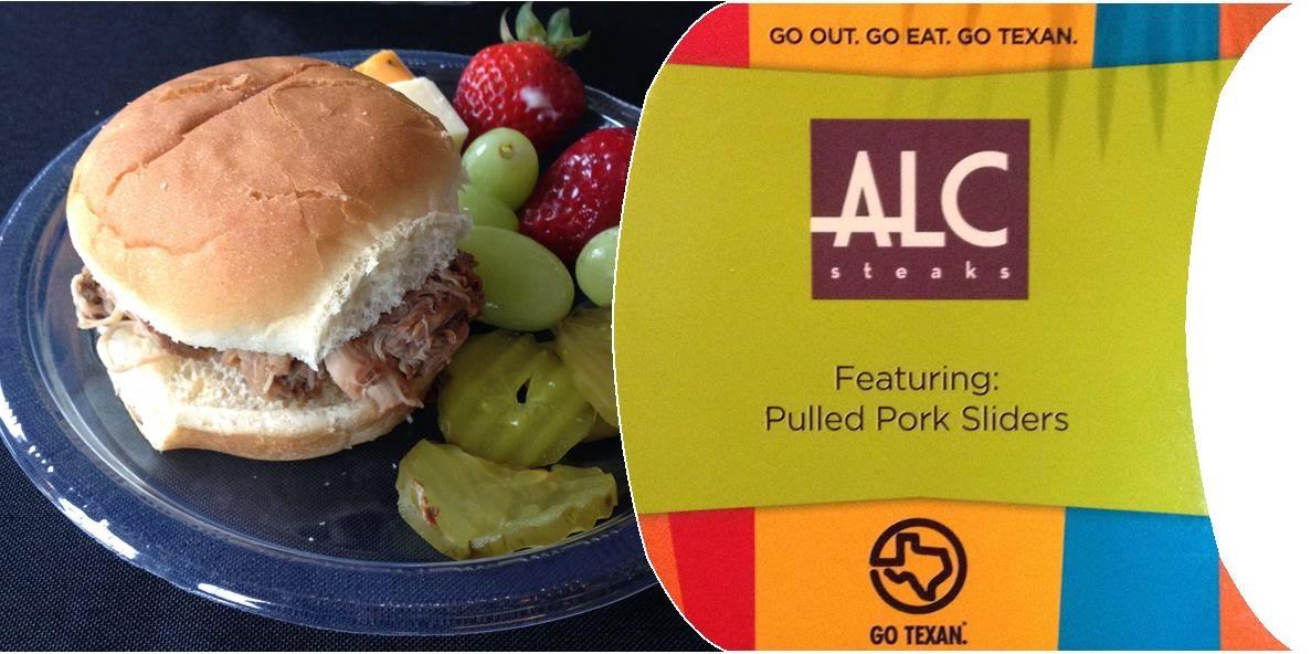Austin Land and Cattle pulled pork slider