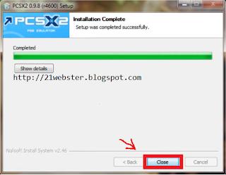 Cara Install PCSX2 0.9.8