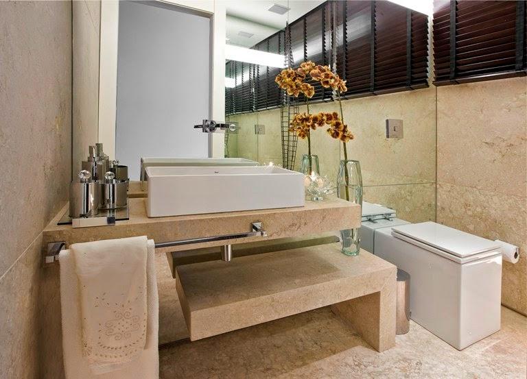 40 Bancadas de banheiroslavabos – veja modelos modernos e maravilhosos!  De # Balcao Banheiro Moderno