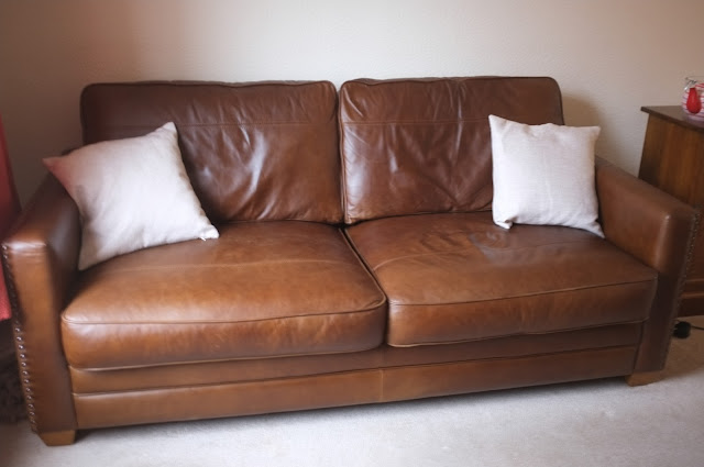 Leather Hudson sofa John Lewis
