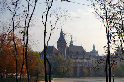 Castle in Budapest Hungary