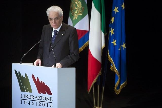 70° ANNIVERSARIO DELLA LIBERAZIONE DI'ITALIA